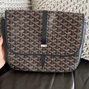 Authentic Goyard Belvedere Ii Messenger Bag.